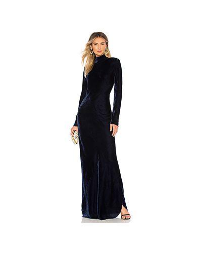 Платье вельветовое из вискозы Nili Lotan
