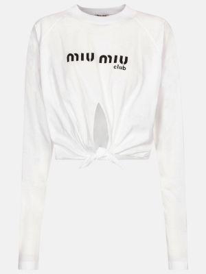 Кроп-топ Miu Miu