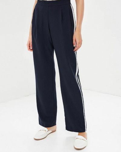 Синие брюки прямые Wallis