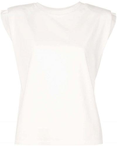 Белый прямой топ Anine Bing