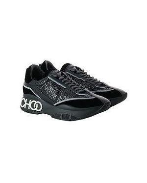 Кроссовки черные Jimmy Choo