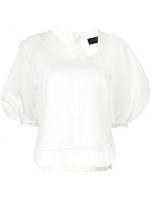 Хлопковая блузка - белая Eudon Choi