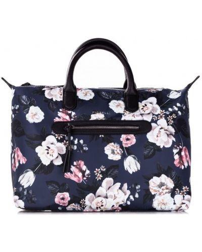 Кожаная сумка - синяя Fiorelli