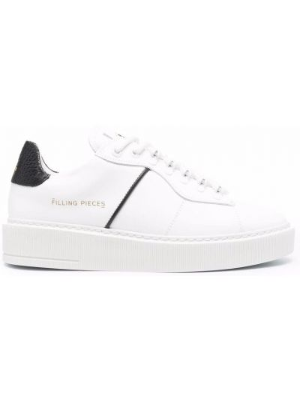 Buty sportowe skorzane - białe Filling Pieces