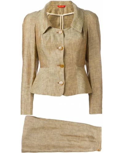 Костюм винтажный на пуговицах Vivienne Westwood Pre-owned