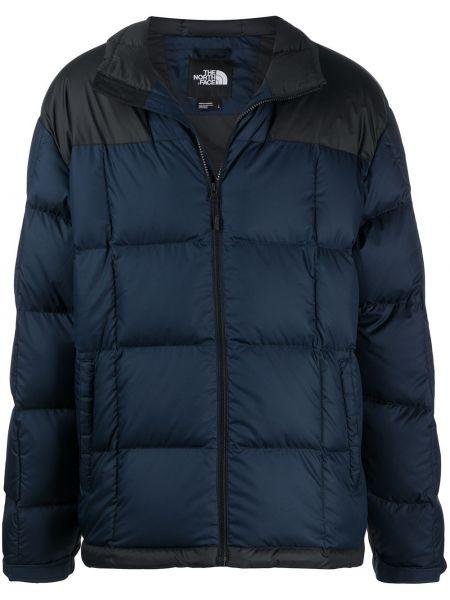Długi płaszcz kurtka grochowa pikowana The North Face