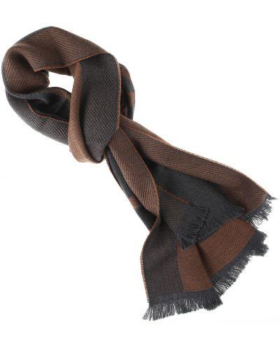 Szary szalik bawełniany Dsquared
