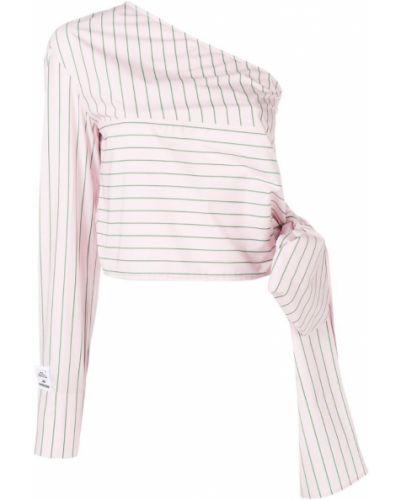 Блузка розовая в полоску Brognano