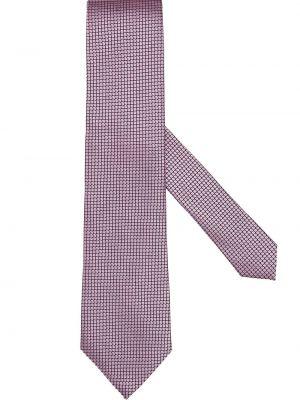 Фиолетовая шелковая резинка для волос Ermenegildo Zegna