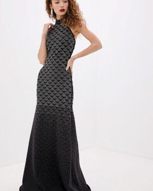 Вечернее платье - серебряное Lança Perfume