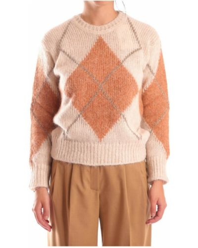 Beżowy sweter Momoni