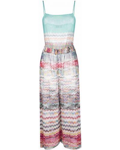 Пляжное платье - синее Missoni
