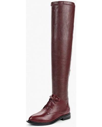 Ботфорты на каблуке кожаные Ilvi