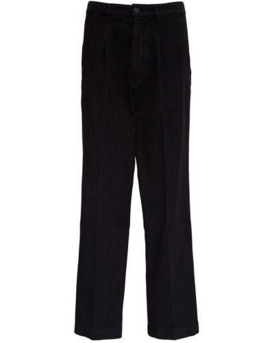 Klasyczne czarne spodnie z haftem Kenzo