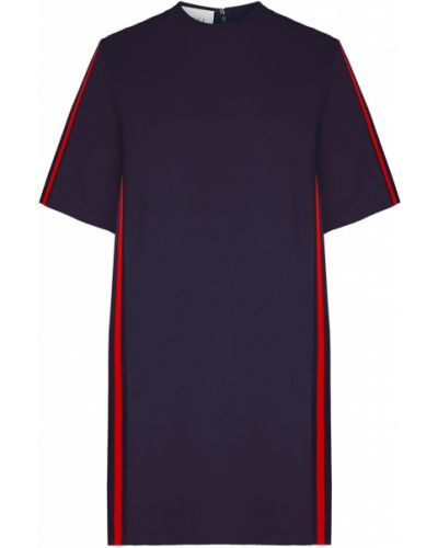 Платье мини трикотажное футболка Gucci