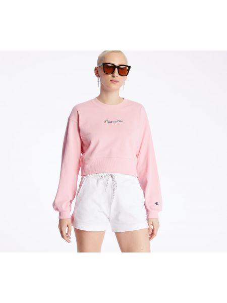 Розовый свитшот Champion