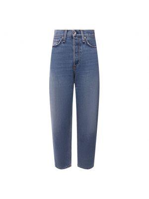 Хлопковые джинсы - синие Rag&bone