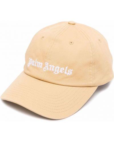 Beżowa czapka z daszkiem Palm Angels