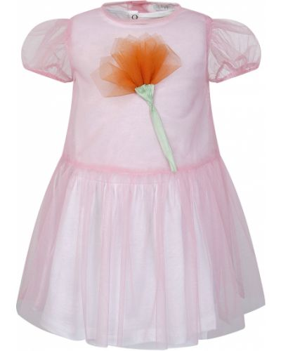 Розовое платье Il Gufo