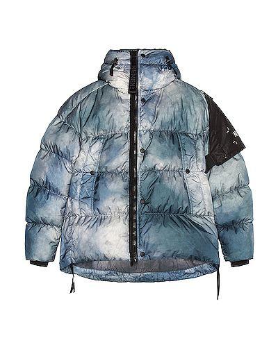 Niebieska kurtka z kapturem Nemen