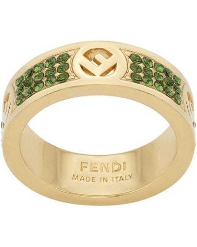 Кольцо - желтое Fendi