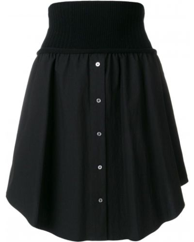Плиссированная юбка асимметричная с поясом Alexander Wang