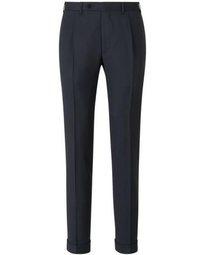 Szare klasyczne spodnie Canali