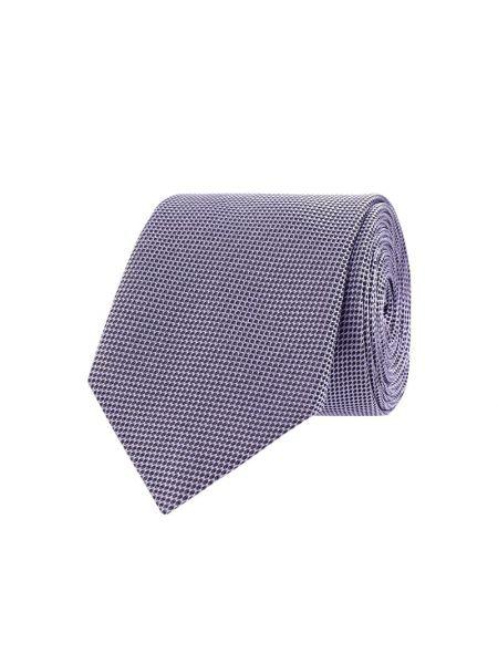 Różowy krawat z jedwabiu Hugo