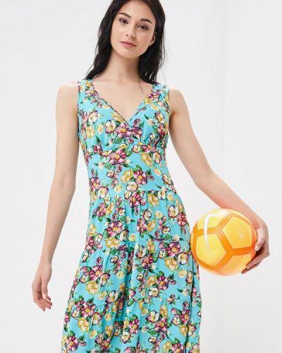 Платье бирюзовый Dizzyway