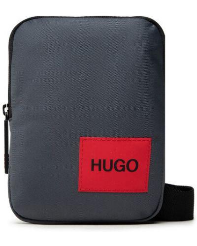 Szara saszetka Hugo