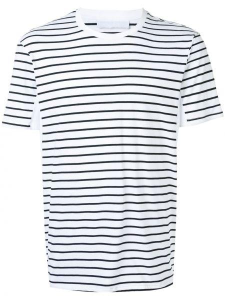 Koszula krótkie z krótkim rękawem z paskami z nadrukiem Neil Barrett