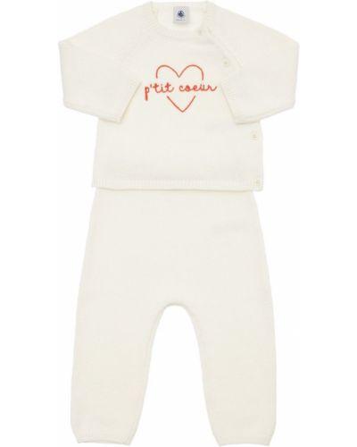 Шерстяной костюм - белый Petit Bateau