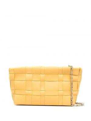 Żółta torebka na łańcuszku skórzana 3.1 Phillip Lim