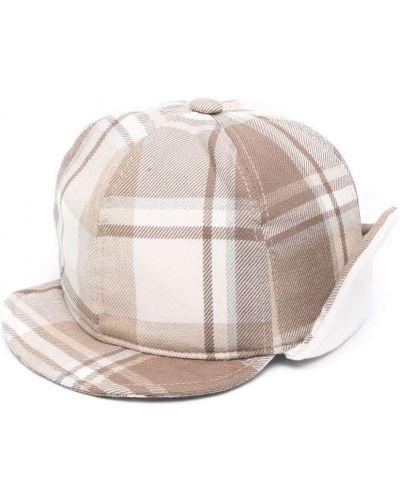 Beżowa czapka bawełniana Colorichiari