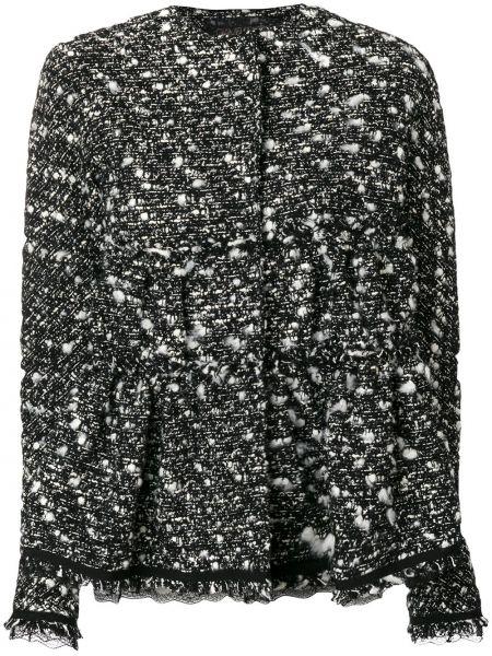 Пиджак черный твидовый Giambattista Valli