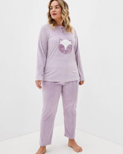Костюмный фиолетовый домашний костюм Winzor