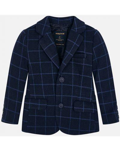 Пиджак темно-синий синий Mayoral