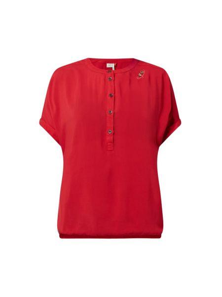 Bluzka krótki rękaw z wiskozy Ragwear
