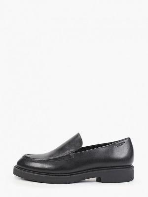 Кожаные лоферы - черные Vagabond