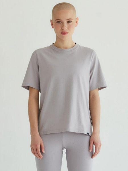 Серая футболка с короткими рукавами Profit