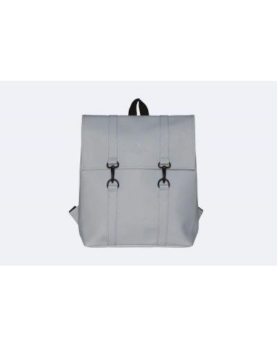 Klasyczny plecak - szary Rains