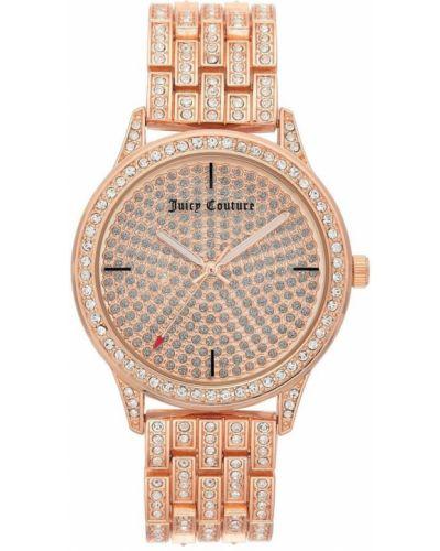 Zegarek mechaniczny - różowy Juicy Couture