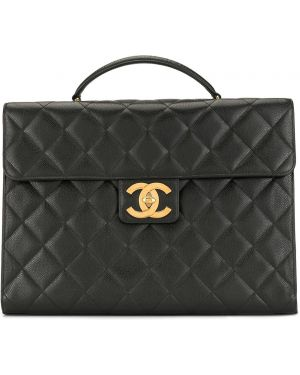Teczka skórzany klasyczny Chanel Pre-owned