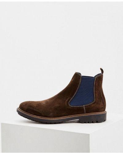 Ботинки осенние замшевые челси Cerruti 1881