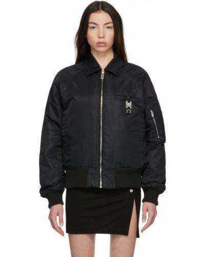 Черная куртка атласная 1017 Alyx 9sm