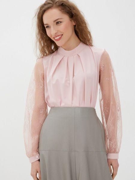 Розовая блузка с длинным рукавом Mankato