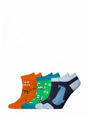 Носки набор зеленый Bb Socks