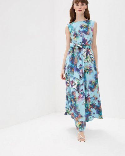 Платье весеннее синее Vladi Collection
