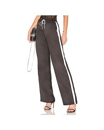 Черные брюки пижамные Majorelle