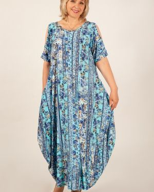 Платье в стиле бохо с цветочным принтом милада